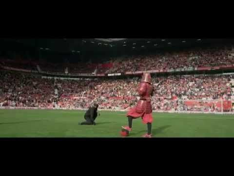Nissin Cup Noodle's Football-Playing Samurai Heads to Manchester | Hypebeast