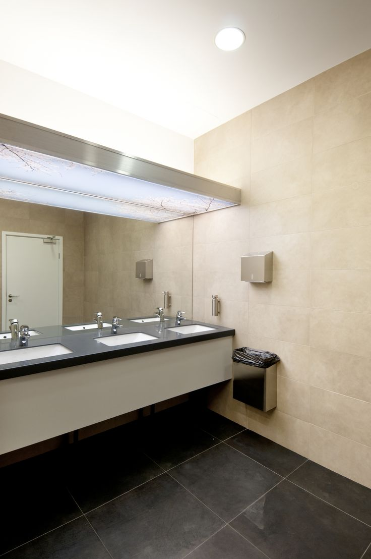 Mitsubishi Motors Office by Meandre. Moscow. Office toilet.