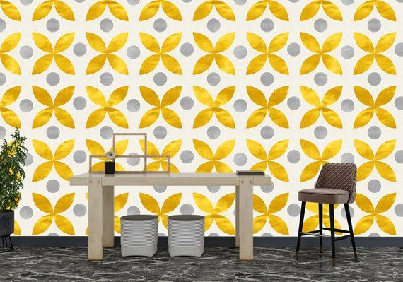 High Quality Removable Peel And Stick Self Adhesive Wallpaper Etsy Peel And Stick Wallpaper Grey Wallpaper Home Wallpaper