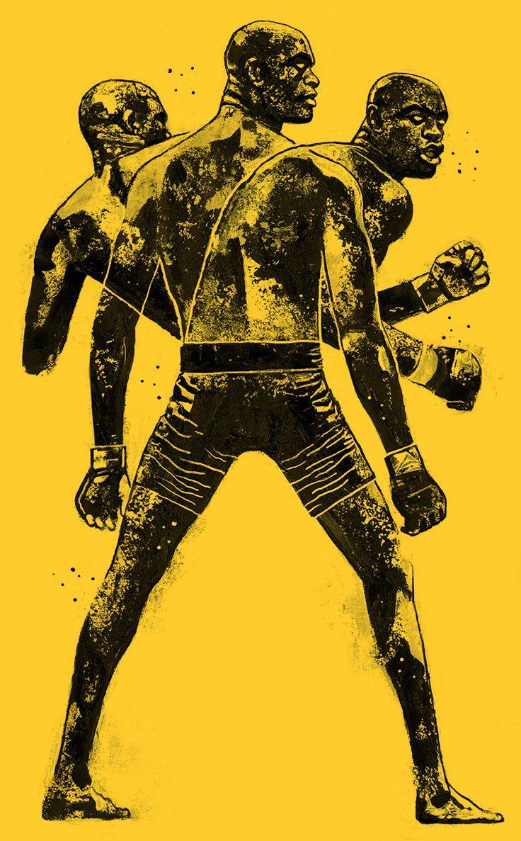 Conheça Gian Galang, o artista que transforma astros do UFC em incríveis ilustrações (Foto: Anderson Silva/UFC)