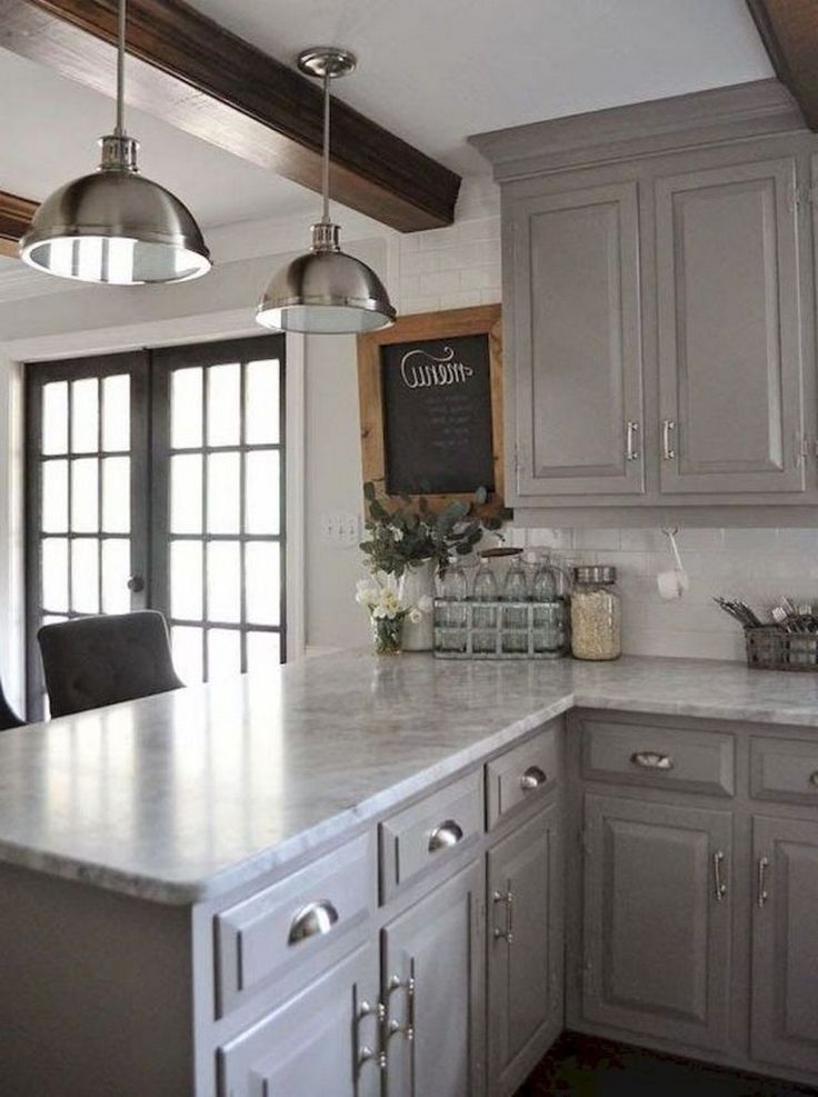 70 beautiful farmhouse kitchen cabinet makeover ideas cheap kitchen makeover budget kitchen on kitchen makeover ideas id=13437