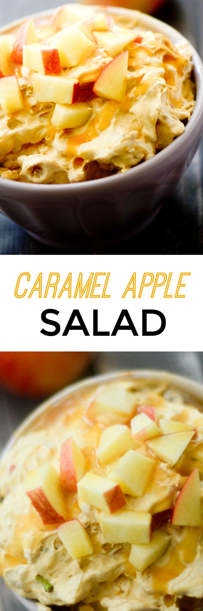 Caramel Apple Salad - Recipe Diaries                                                                                                                                                                                 More