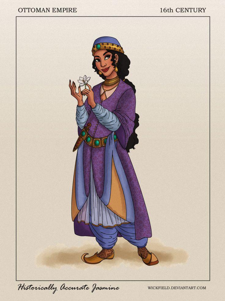 Historically Accurate Jasmine by Wickfield.deviantart.com on @DeviantArt