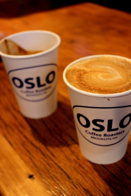 OSLO Coffee, Williamsburg NYC, April 2012
