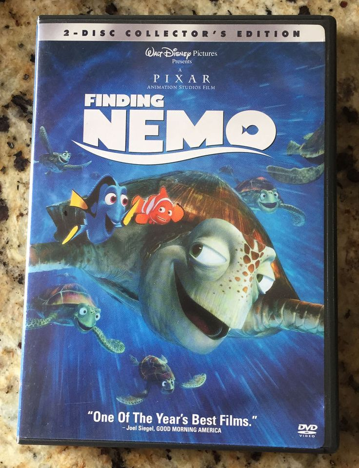 Disney Pixar Finding Nemo 2 Disc Collector's Edition DVD Set Like New