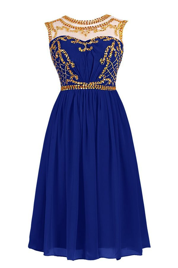 2016 homecoming dress,short homecoming dress,royal blue homecoming dress,chiffon homecoming dress,sparkling homecoming dress,elegant homecoming dress,party dress,back to school party dress