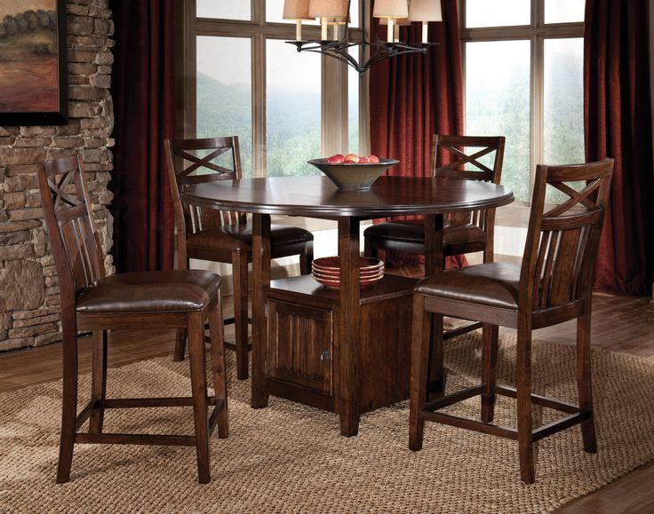 Nice Elegant Round Pub Table And Chairs , Storage Dining Table And Chairs  Amazing , Http