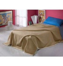 SPRING BABY BED BLANKET CASHMERE AND WOOL NADIA