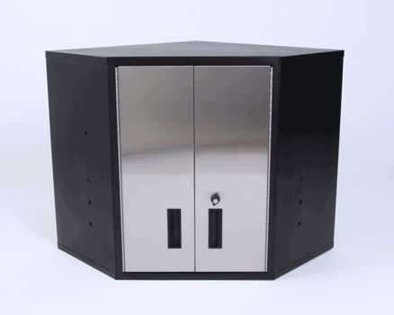 1000 images about stainless steel storage cabinets on for Metal cupboards for garage