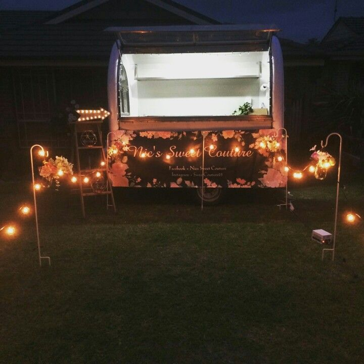 Food trailer idea.  used for parties, weddings and more. food, catering,bar