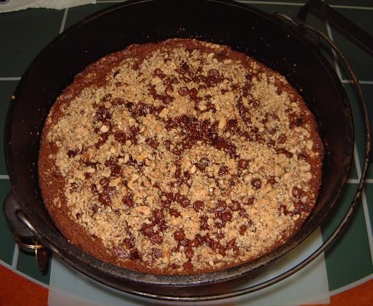 OATMEAL CHOCOLATE CHIP CAKE | desserts | Pinterest