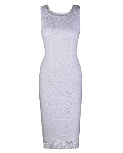 Shop https://goo.gl/TwR8yX   Ineffable Women's Round Neck Sleeveless Elegant Lace Dress   Check Store Price https://goo.gl/TwR8yX  #Dress #Elegant #Ineffable #Lace #Neck #Sleeveless #Womens