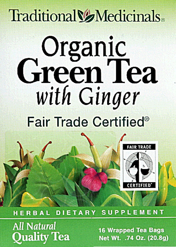 Traditional Medicinals Organic Green Tea With Ginger #vitacostsetsave