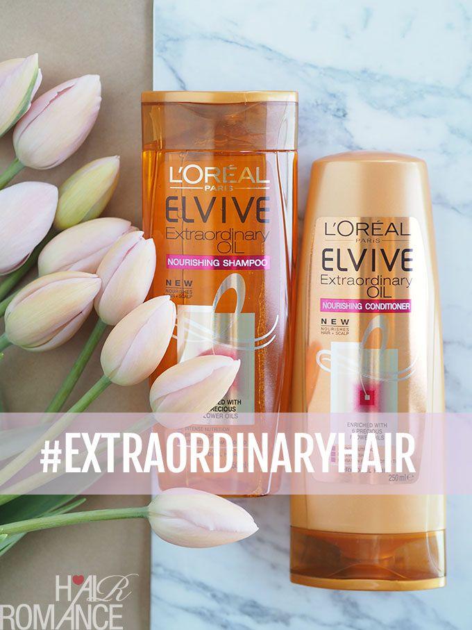 L'Oréal Paris Elvive Extraordinary Oil Review {+ Giveaway!} | Hair Romance | Bloglovin'