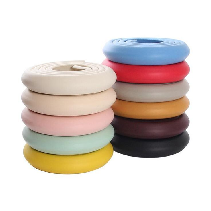 2m Child Kids Baby Toddler Safety Protection Cushion Pads Desk Table Wall Stair Furniture Edge Corner Security Guard Strap Bar
