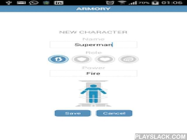 DCUO|CR Calculator Lite  Android App - playslack.com ,  NO CR RESTRICTION ON LITE VERSION!!!The LITE version (100 % Free) allows you to simulate the Combat Rating of 1 armor.DC Universe Online game App specific for PVE mode.With DCUO | CR Calculator it is possible to know where and how to invest your play time more efficiently , with the goal of achieving the highest levels much faster.The application allows for testing equipment options as well as their modifiers and to see which are the…