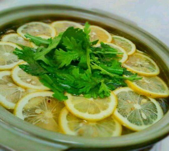 「塩レモン鍋」Salted Lemon Nabe