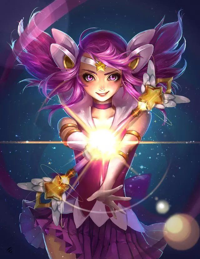 league-of-legends-sexy-girls:   Lux - league of legends & anime