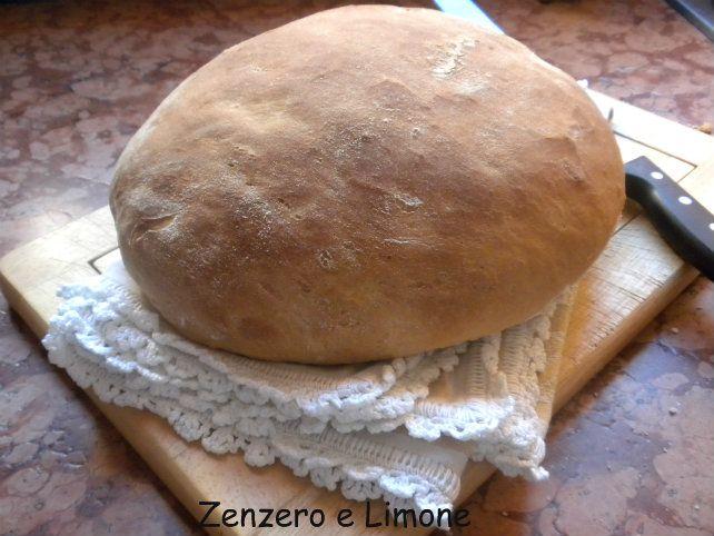 Impasto per pane bianco, ricetta base | Zenzero e Limone