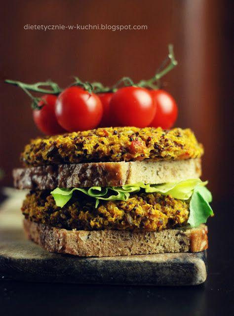 Vegan, quinoa burgers