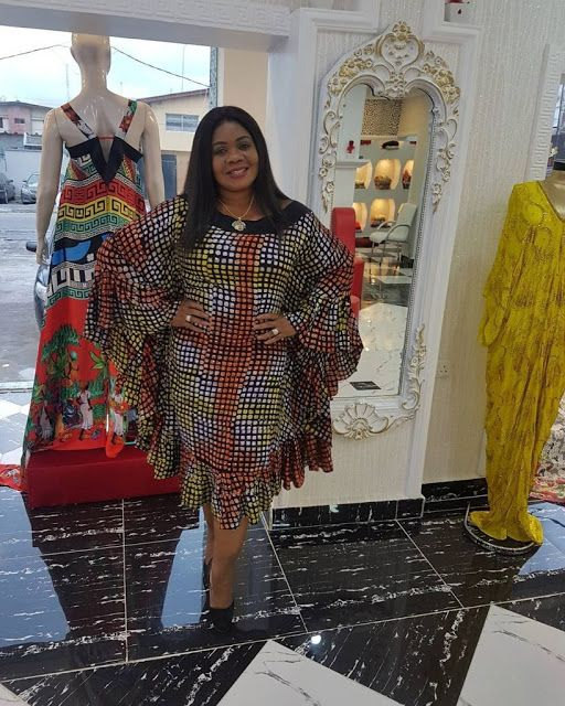 See This Butterfly Ankara Gown Styles for Beautiful Ladies - DeZango Fashion Zone