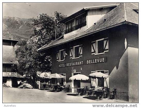 JARRIER  -  HOTEL BELLEVUE   -  CPM ANNEE 1950/60
