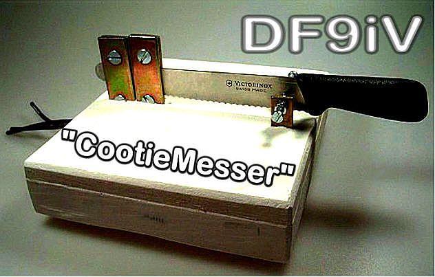 Cootie; Sideswiper; Rechts-Links-Taste; Wabbler; Double Speed Key; Manipulateur simple levier, double contact; Selbstbau/Homebrew/Constructi...