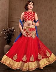 Vibrant Red Lehenga Choli  https://www.ethanica.com/products/vibrant-red-lehenga-choli