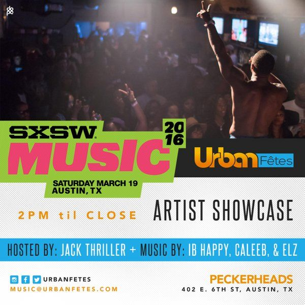 "Urban Fêtes Music Showcase | Hosted by ""This is 50's"" Jack Thriller, the lineup consists of a range of local and nationally renowned acts, crossing all music genres from Rap and R&B to Rock & Roll 