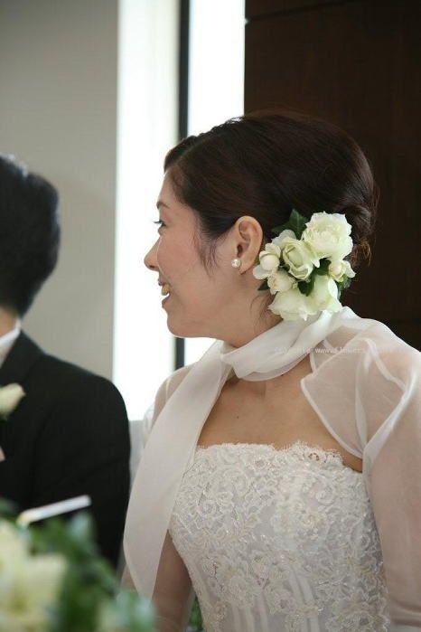 新郎新婦様からのメール イブピアチェ アークヒルズの花嫁さま : 一会 ウエディングの花