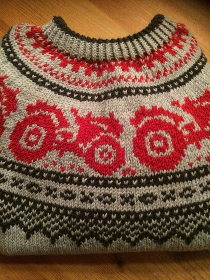Tractor sweater