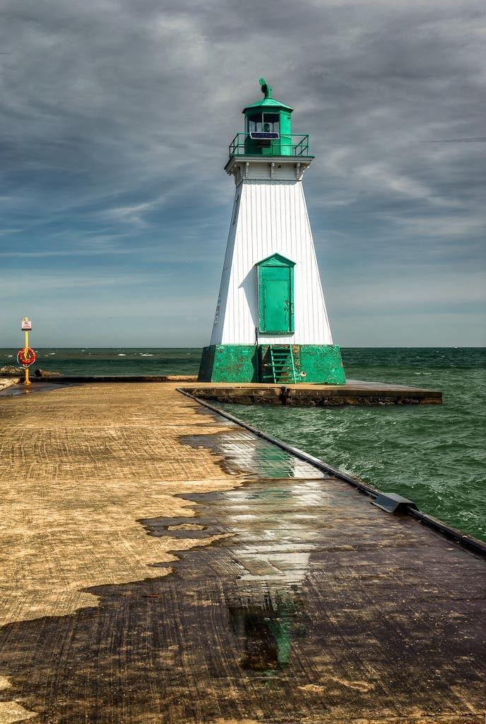 Front Range Light - Dalhousie Harbor Lighthouse - St. Catharines - Ontario, Canada