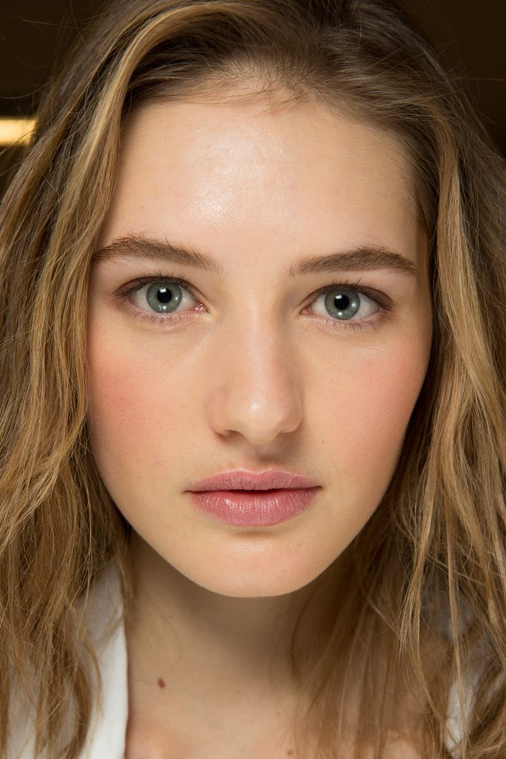 Runway make-up for Michael Kors Fall/Winter 2015 RTW, backstage at New York Fashion Week.