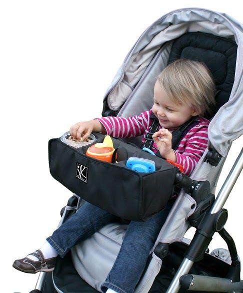 JL Childress- Stroller Accessories- Food N Fun Toddler Tray