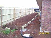 Retaining Wall Drouin. Landscaper Pakenham - Ground Up Garden Renovators www.gardenrenovators.com.au
