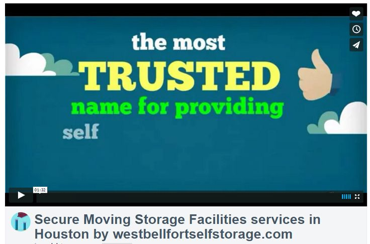 West Bellfort Self Storage offers affordable, clean and secure self storage units in Houston, Texas.  They make self storage safe and convenient.