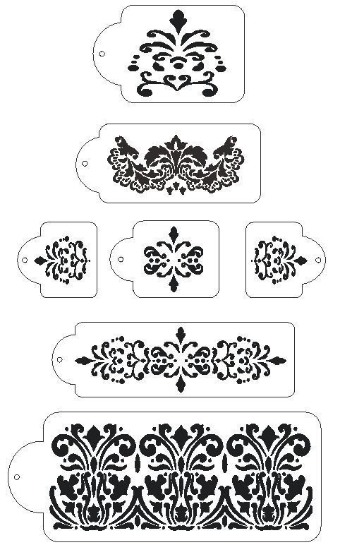wedding cake stencils printable 1000 images about stencils on flower stencils 25704