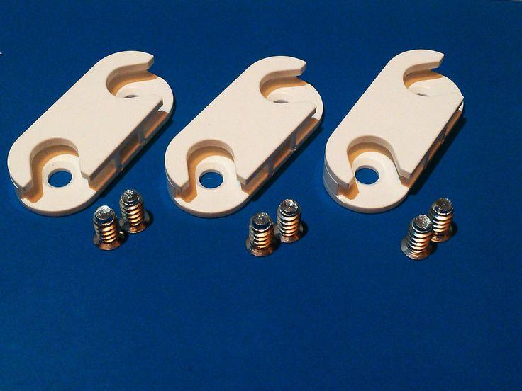 3x IKEA Hinges for STALL & HEMNES Shoe Cabinet cupboard shelves drawers & screws #IKEA