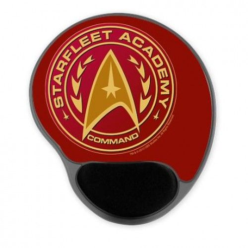 Star Trek Starfleet Academy Command Gel Mousepad