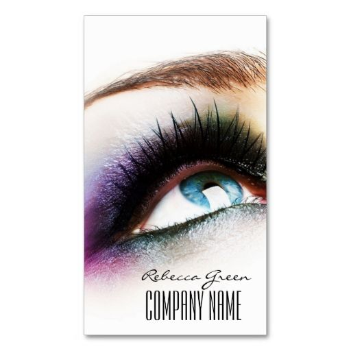 modern beauty fashion stylist makeup artist business card template. This great business card design is available for customization. All text style, colors, sizes can be modified to fit your needs. Just click the image to learn more!