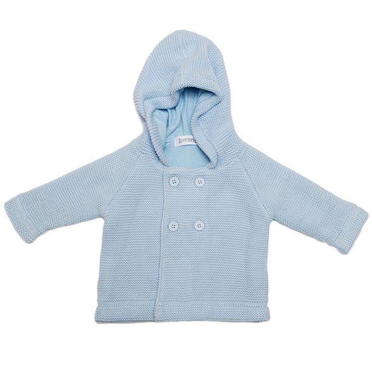 Winter Wonderland Knitted Jacket/Blue - Clothing - boys - Baby Belle
