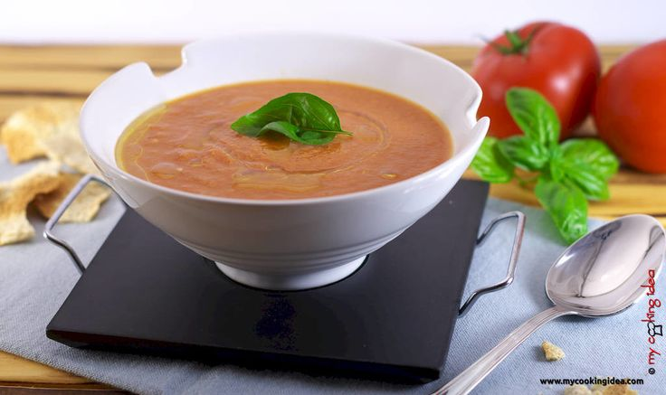 #Zuppa di #pomodori arrosto. Deliziosa nella sua semplicità. #food #mycookingidea http://www.mycookingidea.com/2015/07/zuppa-di-pomodori-arrosto