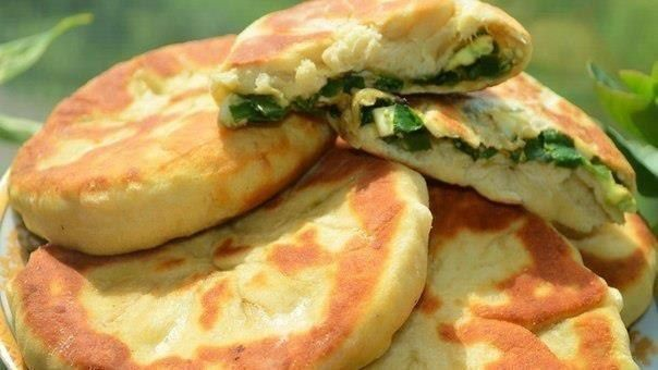 шеф-повар Одноклассники: Пирожки с зеленым луком и яйцом