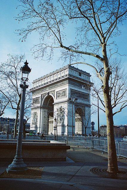 Arc de Triomphe,ou tout les ans le défile du 14 juillet ce passe.