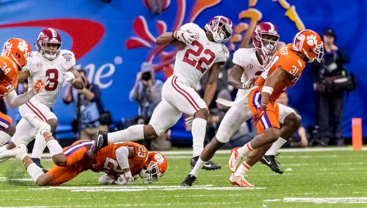 Alabama defeated Clemson, 24-6, Monday in the semifinal round of the College Football Playoff.