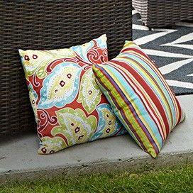CANVAS Prescott Stripe Patio Toss Cushion | Outdoor Oasis | Canadian Tire http://www.canadiantire.ca/inspiration/en/seasonal/canvas/outdoor-oasis.html #MyCANVAS