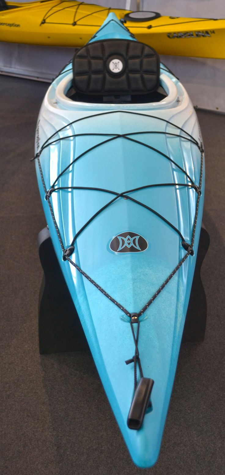 Paddle Expo 2013: Perception were displaying their new Expression touring kayak in new colour combos.