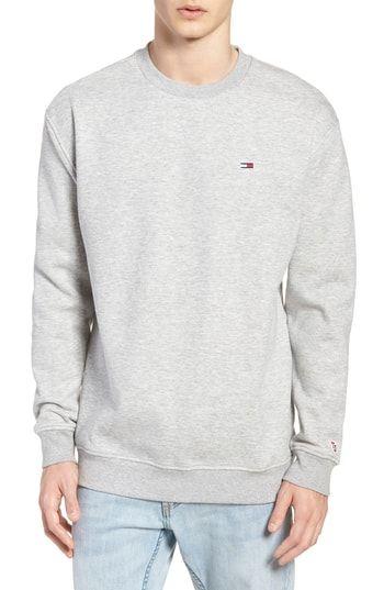 473647b97eb4 Buy TOMMY JEANS Tommy Classics Crewneck Sweatshirt - Fashion Men  Sweatshirts online