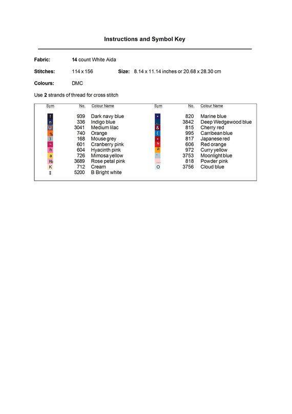 a90ab36784 Abstract Dog Cross Stitch Pattern, Free shipping, Cross Stitch PDF ...