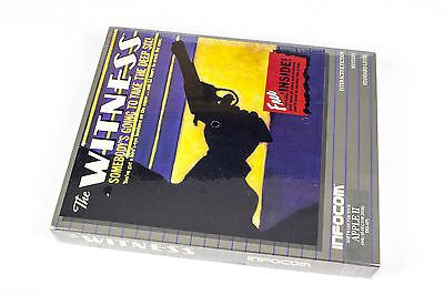The Witness for Apple II by Infocom In Big Box, 1983, Detective / Mystery